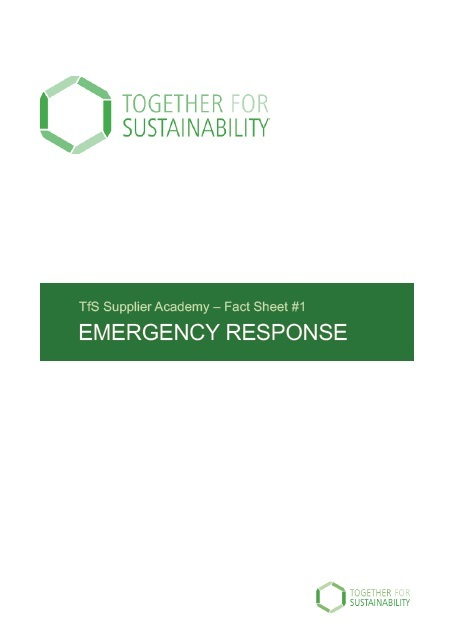Tfs Fact Sheet No 1 Emergency Response