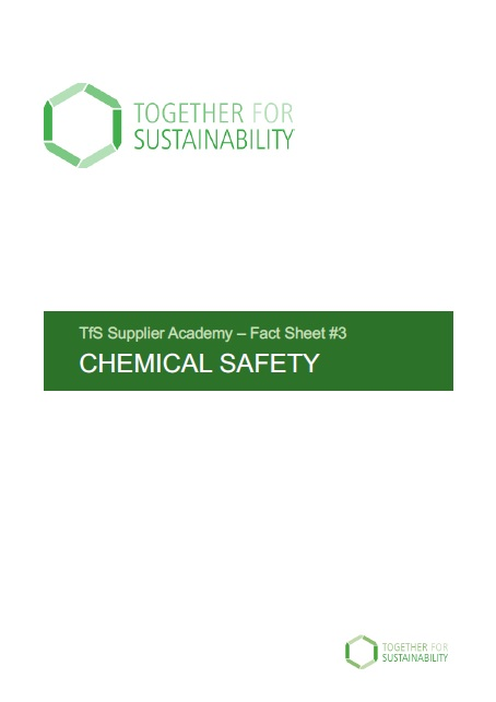 Tfs Fact Sheet No 3 Chemical Safety