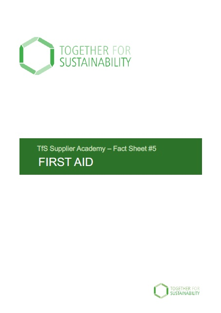 Tfs Fact Sheet No 5 First Aid