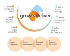 TfS Grow&Deliver strategy infographic