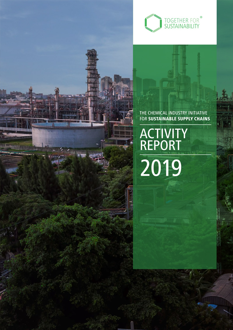 tfs cover of activity report 2019
