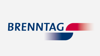 logo of brenntag color