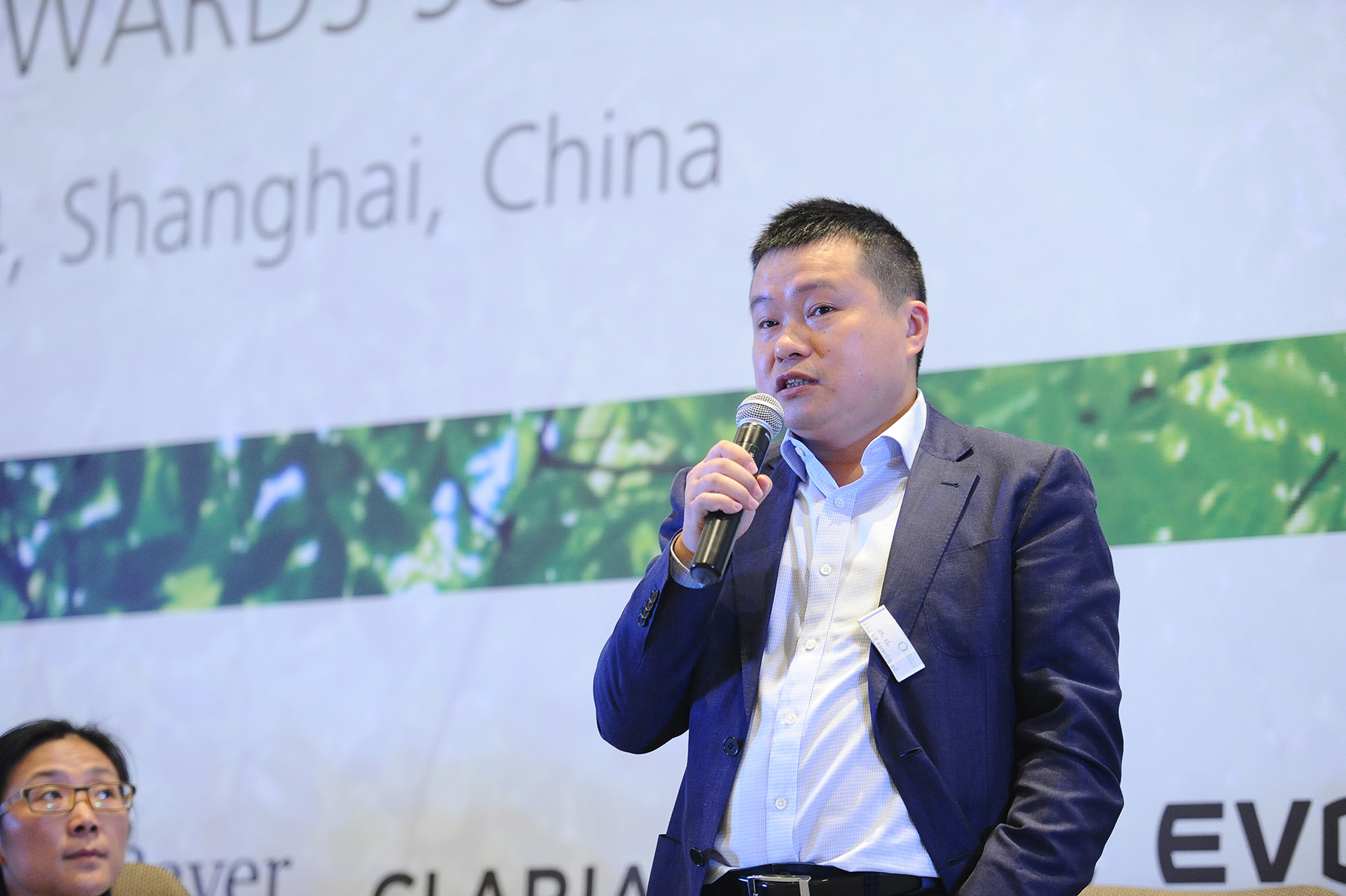 Tfs China Conference Man Speaking To Audience